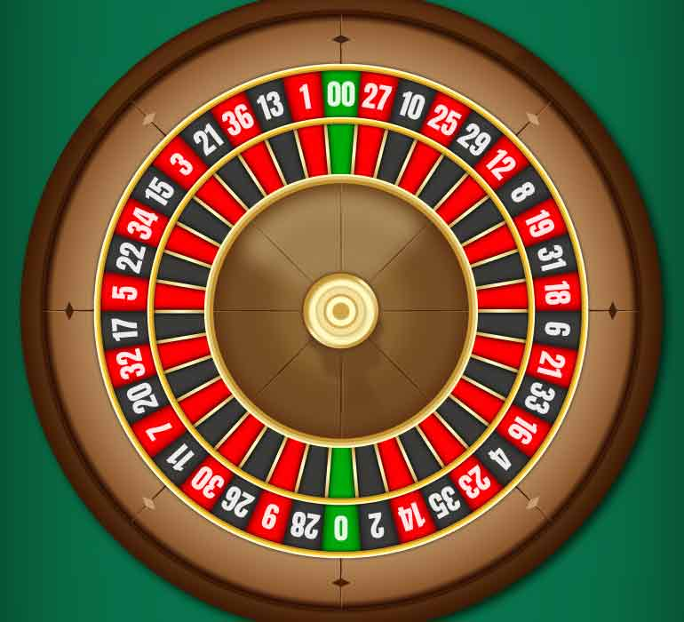 Payout odds 00 roulette
